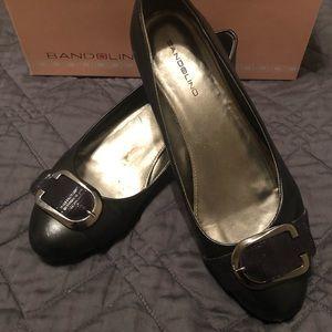Black bandolino Wedge shoes size 7 1/2
